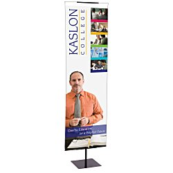 View a larger, more detailed picture of the Exhibitor Series 720 Adjustable Banner Display