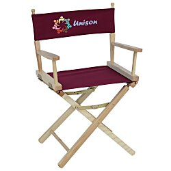 View a larger, more detailed picture of the Directors Chair - Table Height
