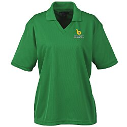 View a larger, more detailed picture of the Moisture Management Polo w Scotchgard - Ladies 