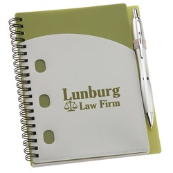 View a larger, more detailed picture of the File-A-Way Notebook w Pen - Classics