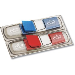 View a larger, more detailed picture of the Post-it&reg Flag Dispenser - Translucent - Double Pk