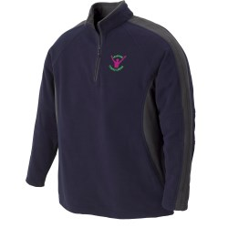 View a larger, more detailed picture of the Recycled Polyester Half Zip Fleece - Men s