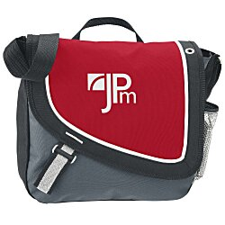 View a larger, more detailed picture of the A Step Ahead Messenger Bag - 24 hr