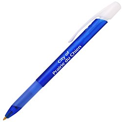View a larger, more detailed picture of the Bic Media Clic Ice Pen w Grip
