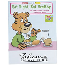 View a larger, more detailed picture of the Eat Right Eat Healthy Coloring Book