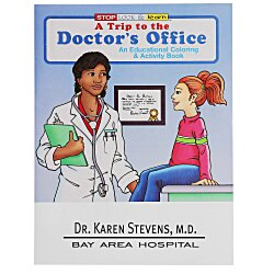 View a larger, more detailed picture of the A Trip to the Doctor s Office Coloring Book