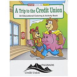 View a larger, more detailed picture of the A Trip to the Credit Union Coloring Book
