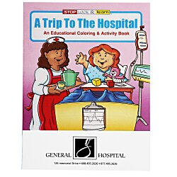View a larger, more detailed picture of the A Trip To The Hospital Coloring Book