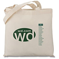 View a larger, more detailed picture of the Eco Design Organic Cotton Tote