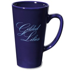 View a larger, more detailed picture of the Shiny Caf Mug 16 oz