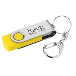View a larger, more detailed picture of the Swing USB Drive - 2GB