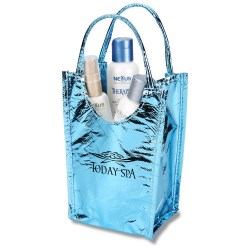 View a larger, more detailed picture of the Metallic Gift Tote - Small