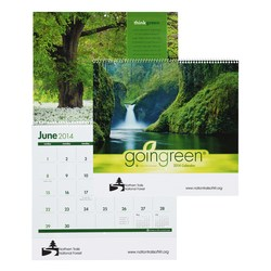 View a larger, more detailed picture of the Goingreen Calendar