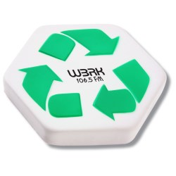 View a larger, more detailed picture of the Stress Reliever - Recycle Symbol