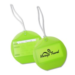 View a larger, more detailed picture of the Endeavor Luggage Tag - Translucent - 24 hr