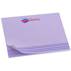 View a larger, more detailed picture of the Bic Sticky Note - Designer - 3x4 - Stripes - 25 Sheet