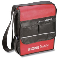 View a larger, more detailed picture of the Riscerca Messenger Bag - Closeout