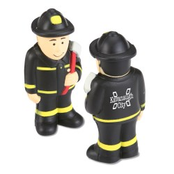 View a larger, more detailed picture of the Stress Reliever - Fireman - 24 hr