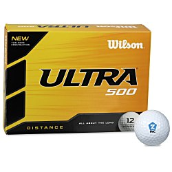 View a larger, more detailed picture of the Wilson Ultra Distance Golf Ball - Dozen - 24 hr