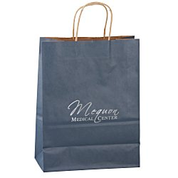 View a larger, more detailed picture of the Matte Shopping Bag 13 x 10 