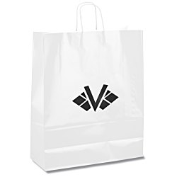 View a larger, more detailed picture of the Gloss Shopping Bag 19-1 4 H x 16