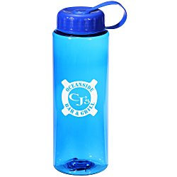 View a larger, more detailed picture of the Athletic Sport Bottle with Tethered Lid - 32 oz