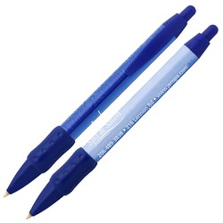 View a larger, more detailed picture of the Bic WideBody Pen w Grip - Flowers