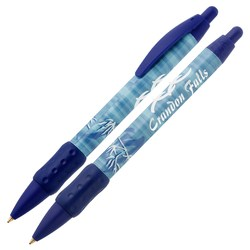 View a larger, more detailed picture of the Bic WideBody Pen w Grip - Bamboo