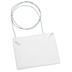 View a larger, more detailed picture of the Eco-Friendly Badge Holder - Elastic Neck Cord