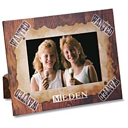 View a larger, more detailed picture of the Paper Photo Frame - Wanted