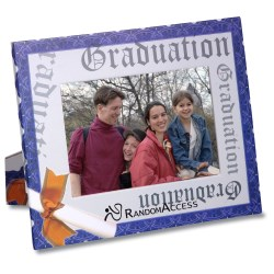 View a larger, more detailed picture of the Paper Photo Frame - Graduation