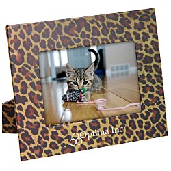 View a larger, more detailed picture of the Paper Photo Frame - Leopard