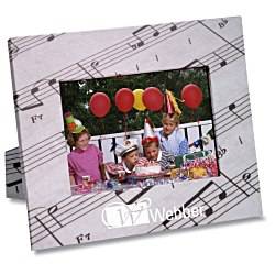 View a larger, more detailed picture of the Paper Photo Frame - Music