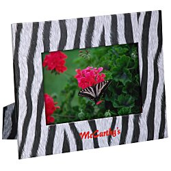View a larger, more detailed picture of the Paper Photo Frame - Zebra