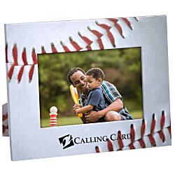 View a larger, more detailed picture of the Paper Photo Frame - Baseball