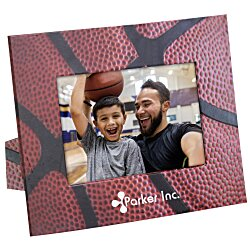 View a larger, more detailed picture of the Paper Photo Frame - Basketball