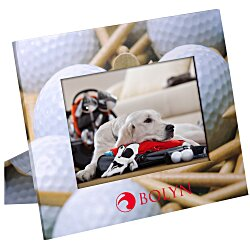 View a larger, more detailed picture of the Paper Photo Frame - Golf