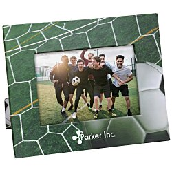View a larger, more detailed picture of the Paper Photo Frame - Soccer