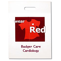 View a larger, more detailed picture of the Wear Red Die Cut Bag