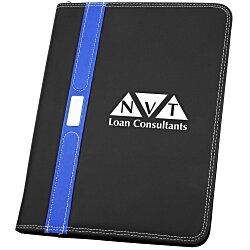 View a larger, more detailed picture of the Contemporary Zippered Portfolio