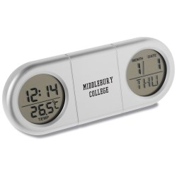View a larger, more detailed picture of the Dual Display Travel Alarm Clock