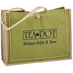 View a larger, more detailed picture of the Milan Jute Tote