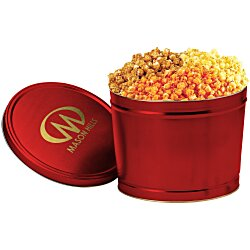 View a larger, more detailed picture of the 3-Way Popcorn Tin - Solid - 2 Gallon