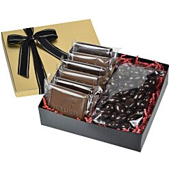 View a larger, more detailed picture of the Premium Confection w Cookies - Dark Chocolate Almonds