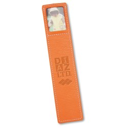 View a larger, more detailed picture of the Leather Bookmark