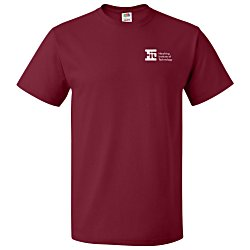 View a larger, more detailed picture of the Fruit of the Loom HD T-Shirt - Men s - Colors