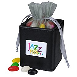 View a larger, more detailed picture of the Desk Caddy - Leatherette - Assorted Jelly Beans