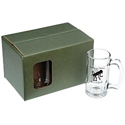 View a larger, more detailed picture of the Beer Stein Set - 12 oz - Colored Box