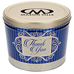 View a larger, more detailed picture of the 3-Way Popcorn Tin - Design - 2 Gallon
