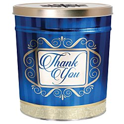View a larger, more detailed picture of the 3-Way Popcorn Tin - Design - 3-1 2 Gallon
